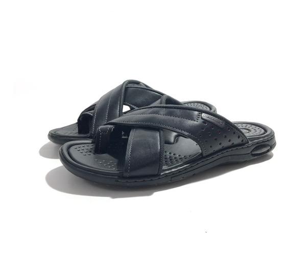 Pegada 132703 Chinela Cuero Cómoda El Mercado De Zapatos!!