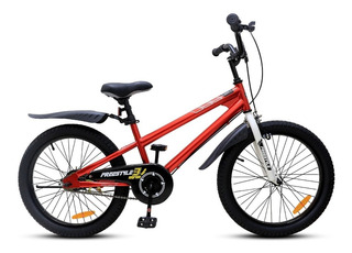 Bicicleta Royal Baby Rod 20 Infantil Roja