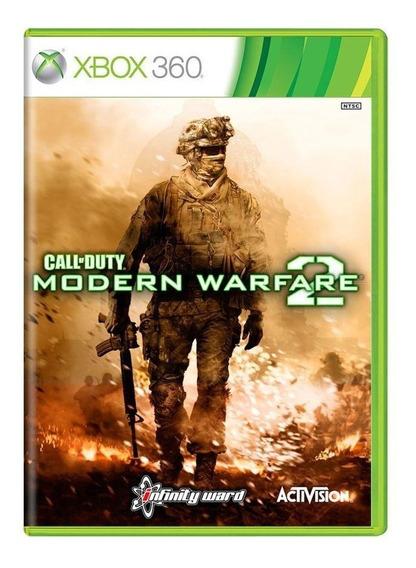 Call Of Duty Modern Warfare 2 Xbox 360 Mídia Física