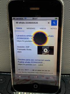 iPhone 3g 16g, Usado Funcionando, Mancha En Display