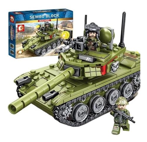 Tanque De Guerra Tipo Lego