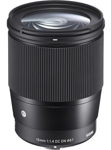 Lente Sigma 16mm F/1.4 Dc Dn Sony