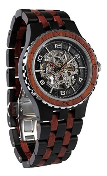 Exclusivo Reloj Wilds Wood Watches Premium Eco Self-winding