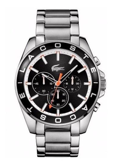 Relógio Lacoste Masculino Aço Fundo Preto - 2010855
