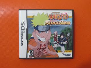 Naruto Path Of The Ninja Original Nintendo Ds