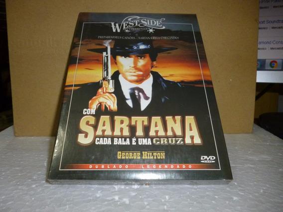 Dvd Sartana - Cada Bala É Uma Cruz Dubl Leg Nac Lacrado