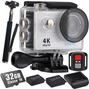 Kit Câmera Eken H9r 4k +32gb + Bastão + Carregador +bateria