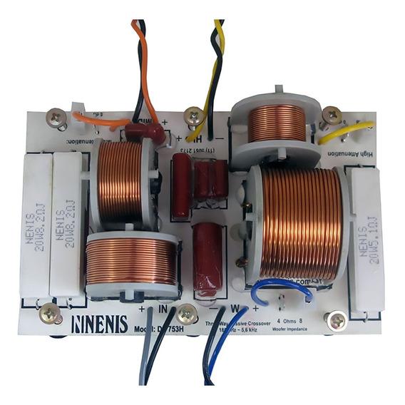 Divisor De Frequência Df753h Nenis 3 Vias 750 Watts Df 753