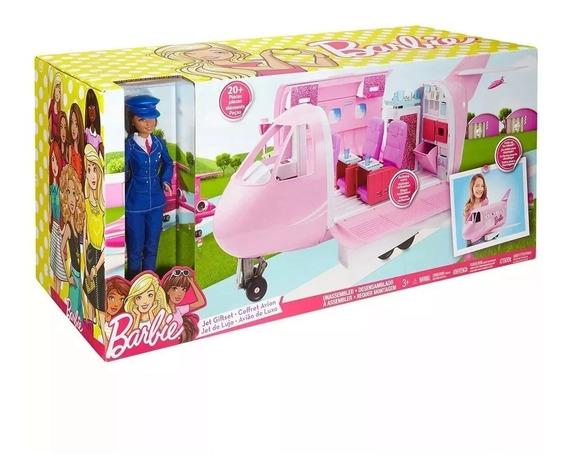 Novo Barbie Avião De Luxo Jatinho Da Barbie Mattel