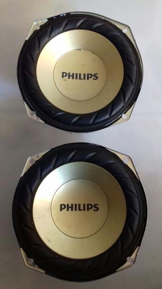Par De Alto Falantes Som Philips Fx20x/78.
