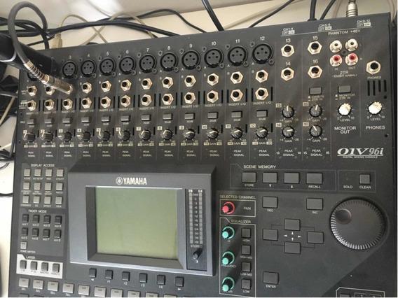 Mesa De Som Digital Yamaha 01v96i Sem Juros Nf De Compra