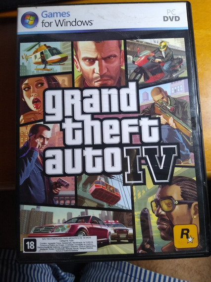 Grand Theft Auto Iv Complete Edition - Pc Dvd