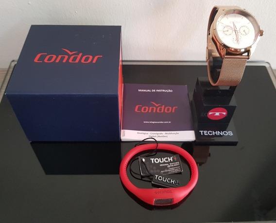 Relógio Condor Fem Co6p29jm