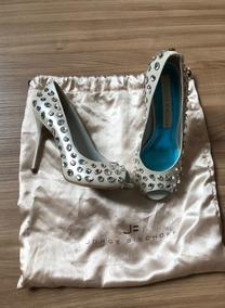 Sapato Feminino Jorge Bischoff Noiva Ou Debutante