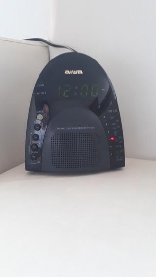 Radio Relógio Aiwa