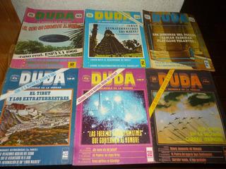 Revistas Duda,existencia En La Descripcion,$50 C/u
