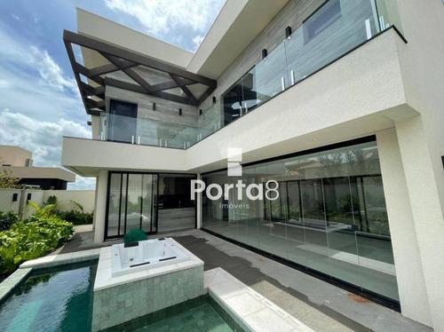 Imagem 1 de 30 de Casa À Venda, 450 M² Por R$ 3.700.000,00 - Residencial Quinta Do Golfe - São José Do Rio Preto/sp - Ca2853