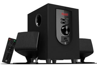 Hf Audio Mini Componente 1000w Bluetooth Usb Sd 2.1