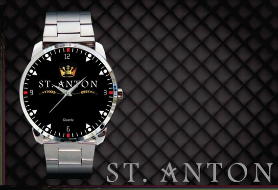 2 Relógios De Pulso Personalizados Logo St.anton