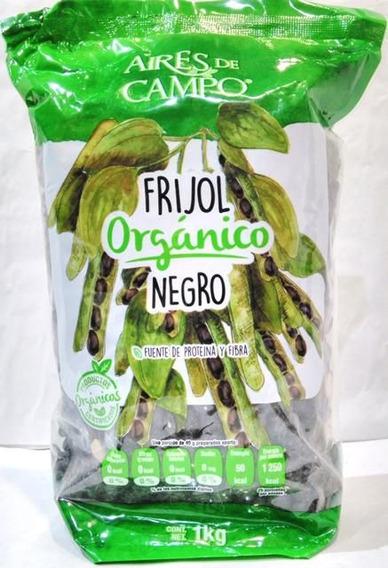 Frijol Negro Organico 1 Kg