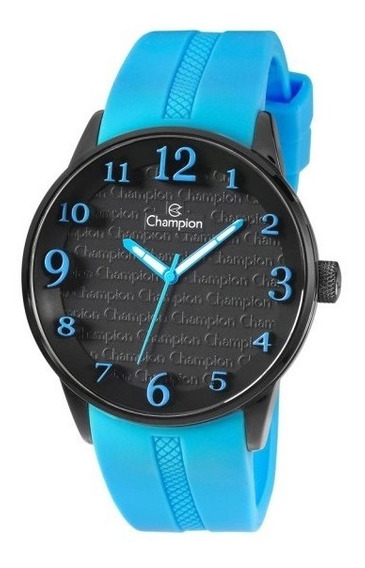 Relógio Champion Trendy Azul Smurff