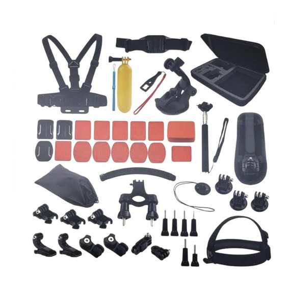 Kit Acessórios Gopro 7 Black Completo Go Pro Hero+ 6 5 3 Way