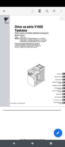 Imagem 1 de 1 de Manual Do Inversor Yaskawa V1000
