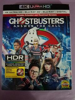 Ghostbusters 4k Ultra Hd + Blu-ray 3d + Blu-ray + Digital Hd