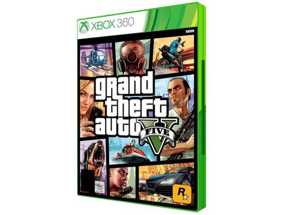Gta V Para Xbox 360 - Com Frete!