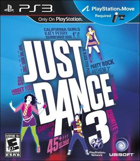 Juego Just Dance 3 Ps3 Sony ( Sellado)