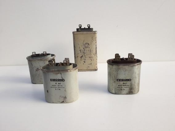 Lote De Capacitores Electroliticos Elecond.