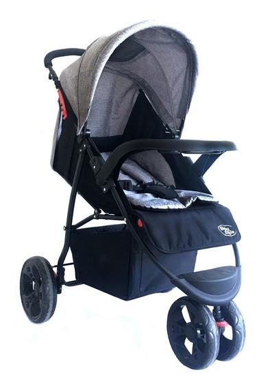 Carrinho De Passeio Triciclo Urban Cinza Baby Style