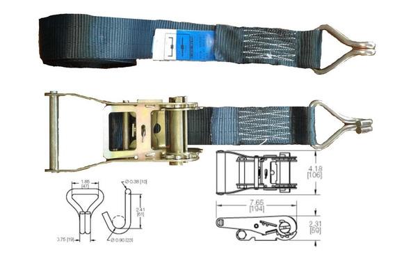 Ratchet -crique Tensor Traca-traka 50mm X 9m 3000kg Astro