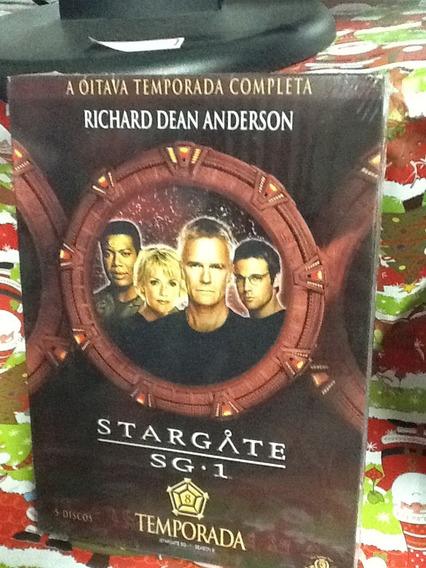 Dvd Stargate Sg-1 8ª Temporada 5 Discos