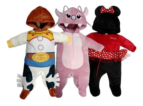 Kit 3 Mamelucos Disney Jessie, Angel, Minnie A Precio De 2