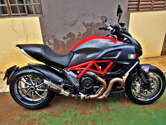 Ducati Diavel Carbon 2013 Ponteira Carbono Impecável