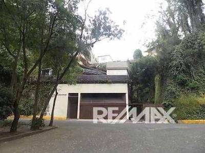 Casa Sola En Venta Calle Tranquila En Bosques De Las Lomas