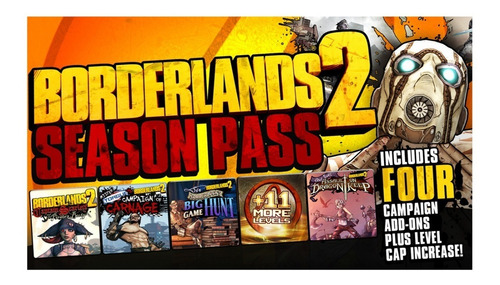 Season Pass Borderlands 2 Ps3 :videojuegos Ordex: