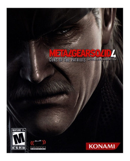 Juego Metal Gear Solid 4 Guns Of The Patriots Para Ps3 Usado