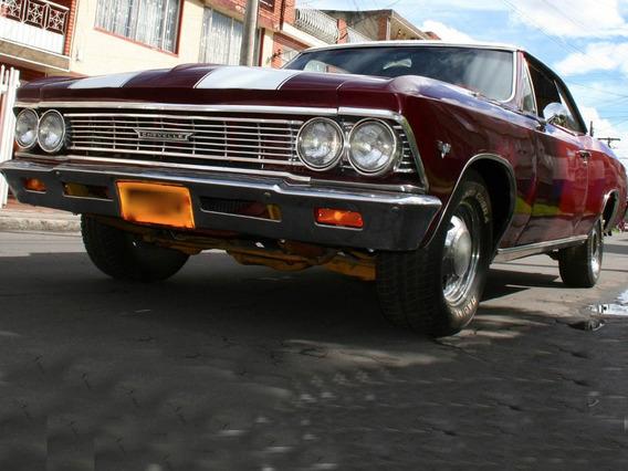 Chevrolet Clasico Malibu Chevelle Coupe 1966 En Buen Estado