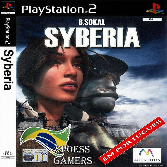 Syberia Portugues Ps2 Aventura Patch Legendado