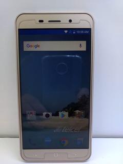 Celular Zte Blade A602 16gb Tela 5.5 Biometria Dourado Capa