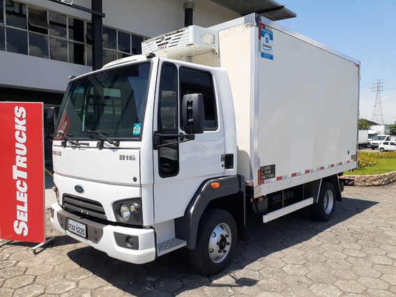 Ford Cargo 816s 2015 Baú Selectrucks