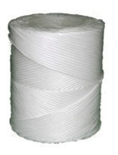Bobina De Rafia Agrícola Color Blanco De 1 Kilo C/u