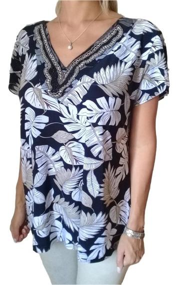 Blusa Camisola Seda Fría - Talles Grandes