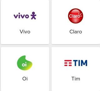 Recarga Oi Tim Claro E Vivo R$20,00 Online E Imediato!