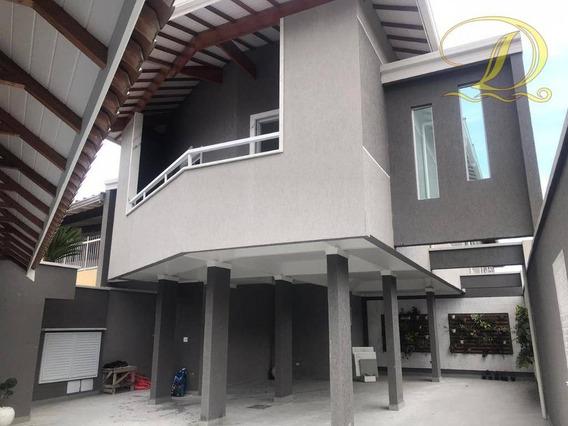 Sobrado Com 2 Dormitórios À Venda, 68 M² Por R$ 240.000 - Ocian - Praia Grande/sp - So0070