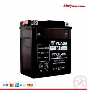 Bateria Acumulador Yuasa Ytx7l-bs Incluye Acido
