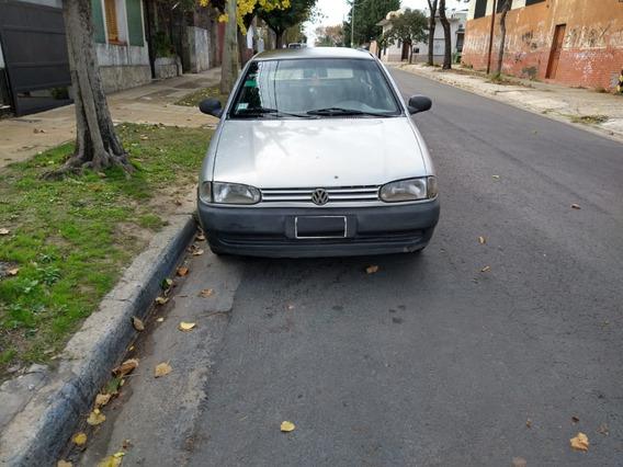 Volskwagen Gol Mi 1.0 1999 Gris 3 Puertas