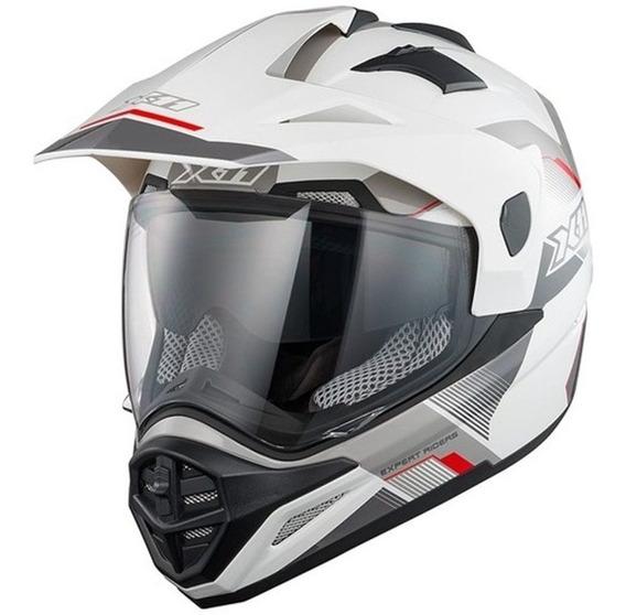 Capacete X11 Crossover X3 Viseira Dupla Moto Quadriciclo
